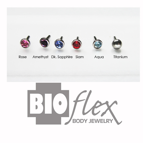 Titanium Pushfit Beads for Bioflex Internal Bars