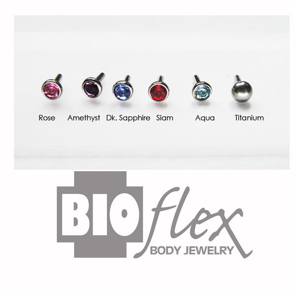 Titanium Pushfit Beads for Bioflex Internal Bars