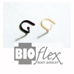 Bioflex Nose Piercing Retainer-F/B